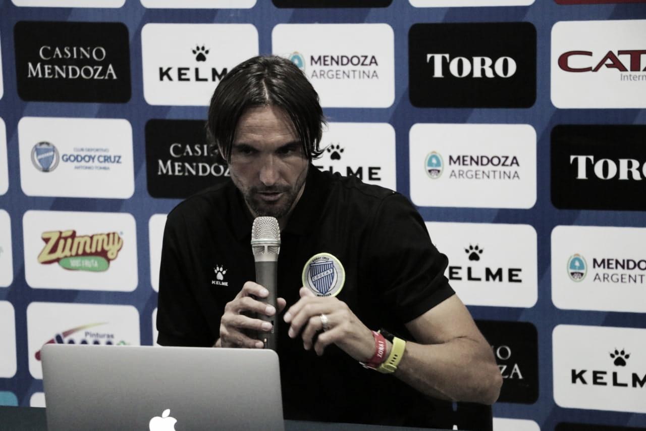 Martínez explicó por qué el Tomba mereció más en los últimos 5 partidos. Foto: Prensa Godoy Cruz.