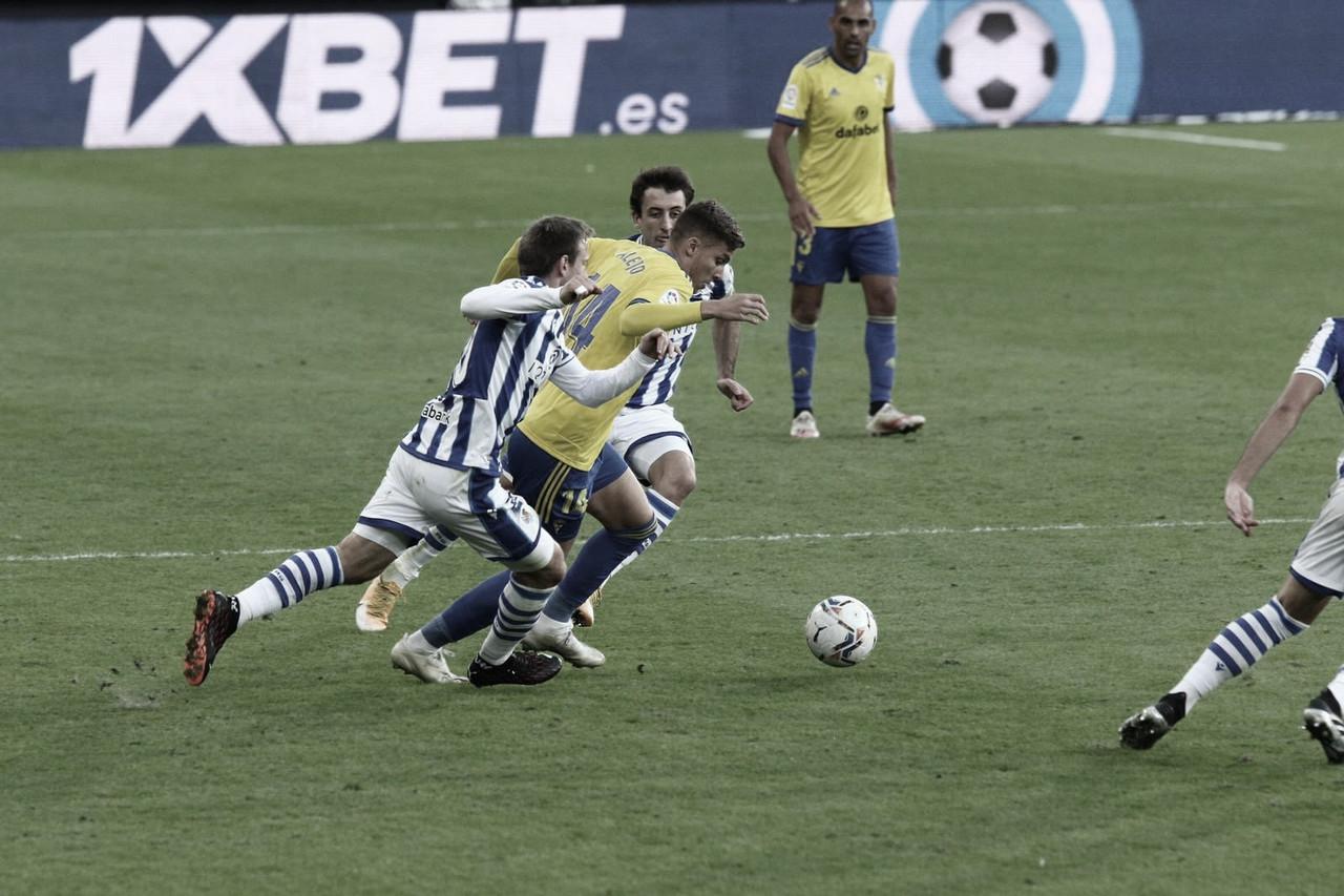 Cádiz 0-1 Real Sociedad: Superioridad de la Real en Carranza