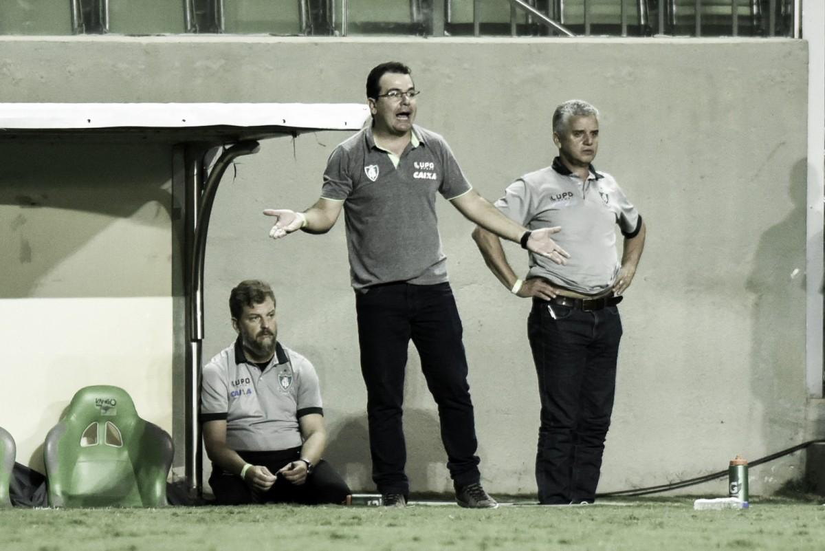 """Enderson Moreira avalia performance do América-MG no Mineiro: """"Boa campanha"""""""