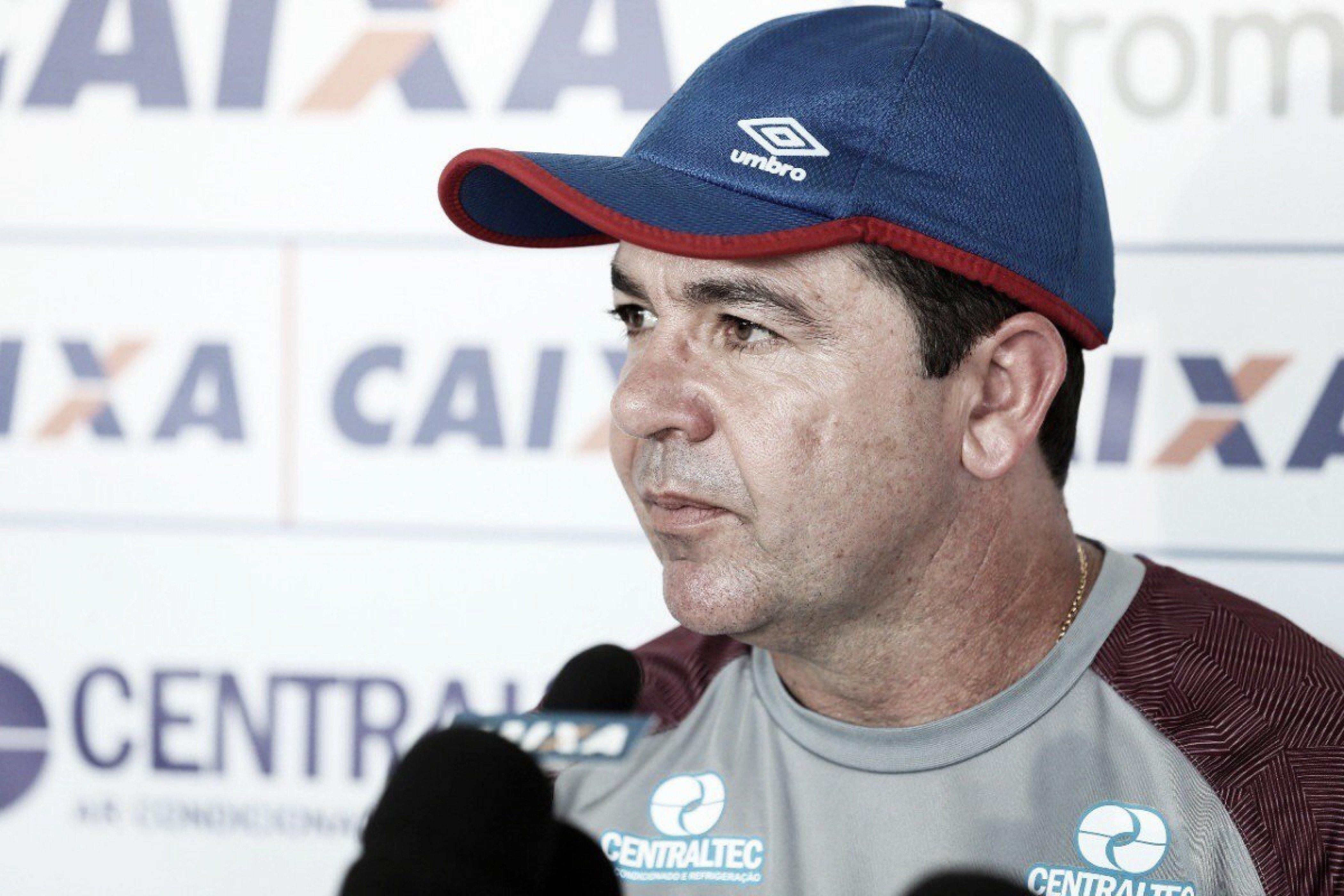 Enderson assume jogo ruim do Bahia, mas valoriza vantagem conquistada sobre o Botafogo