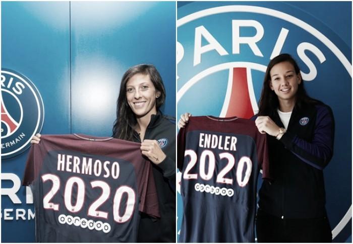 PSG anuncia contratações da chilena Christiane Endler e espanhola Jennifer Hermoso