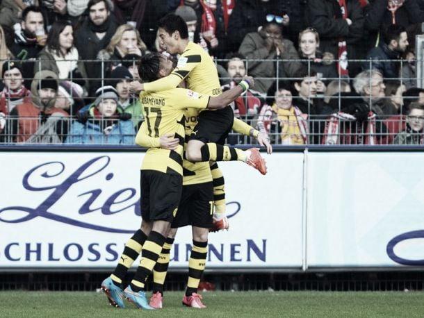 SC Freiburg 0-3 Borussia Dortmund: Aubameyang and Reus lead BVB to long-awaited win