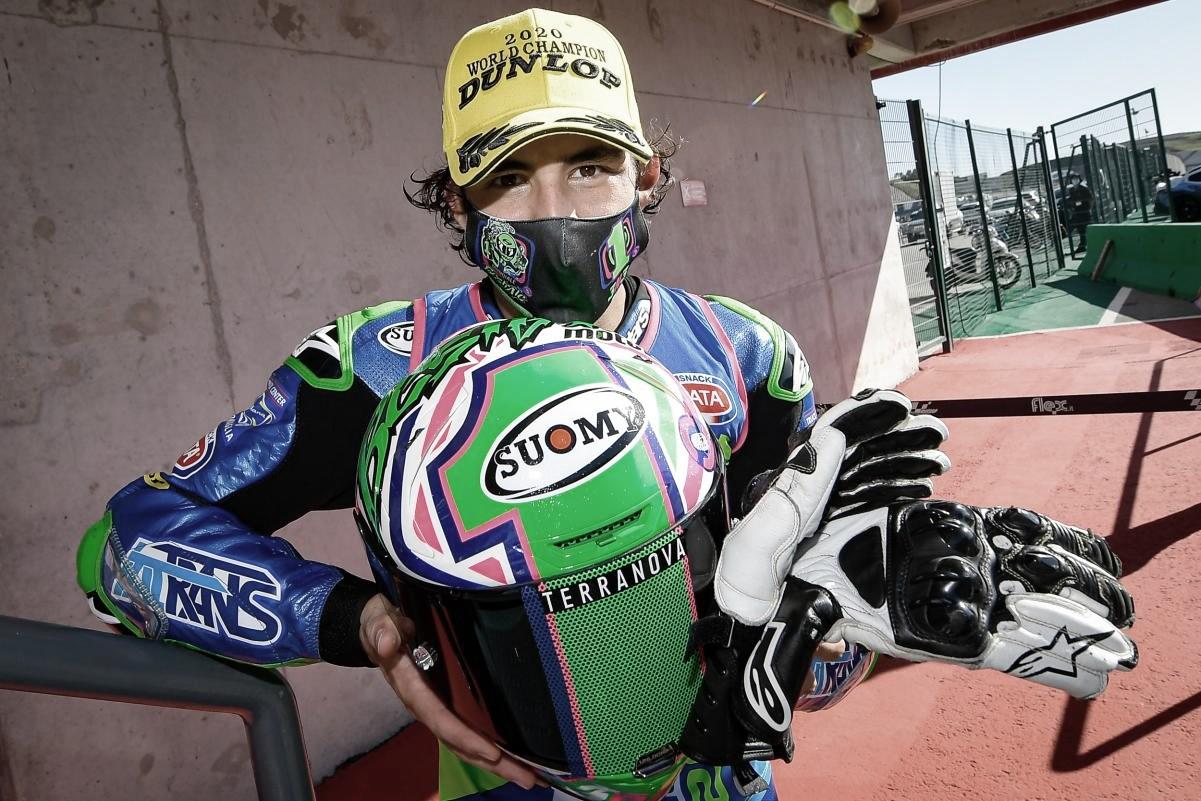 Enea Bastianini podría perderse el primer día de test en Qatar