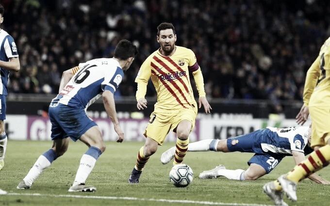 Barcelona recebe desesperado Espanyol no clássico catalão do Campeonato Espanhol
