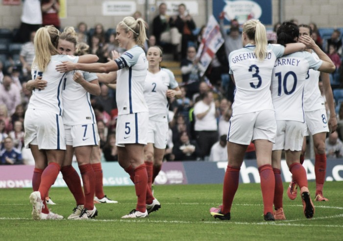 UEFA Euro 2017 Qualifier: England 7-0 Serbia: Goals galore in High Wycombe