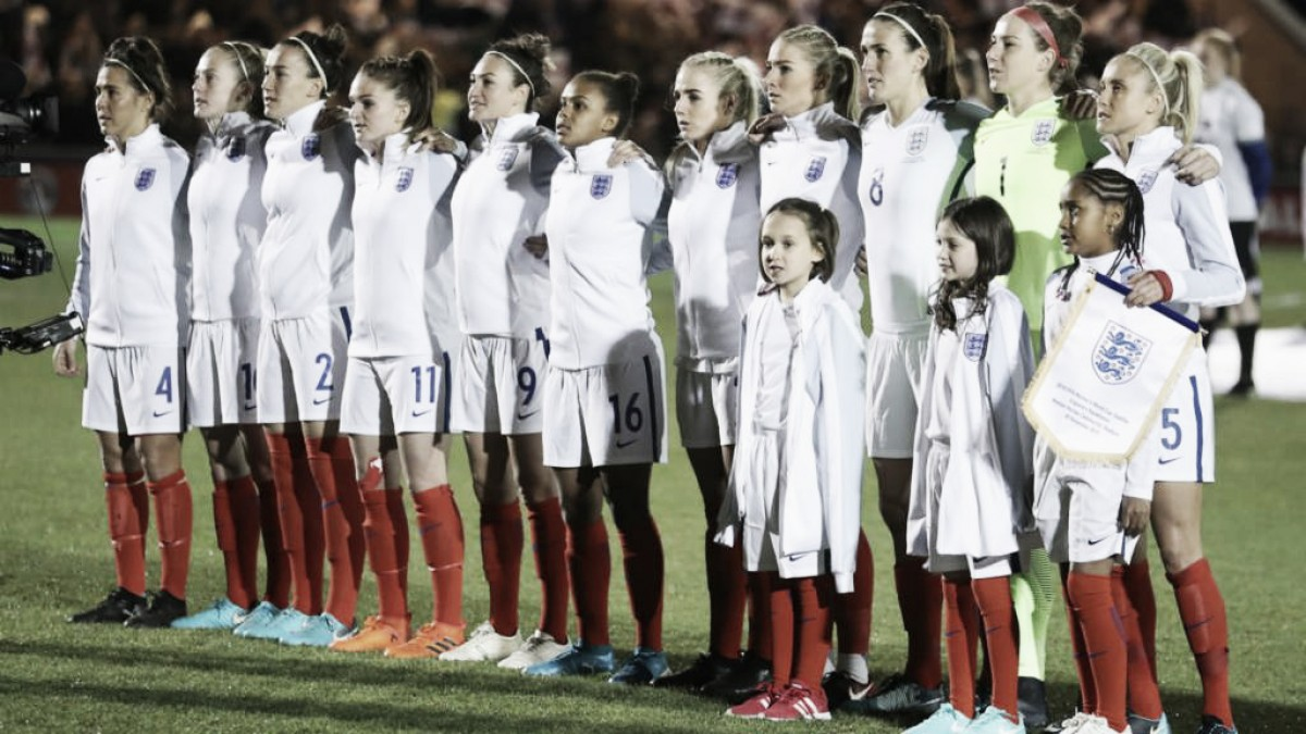 England Women 4-1 France Women: Lionesses cruise on Phil Neville bow
