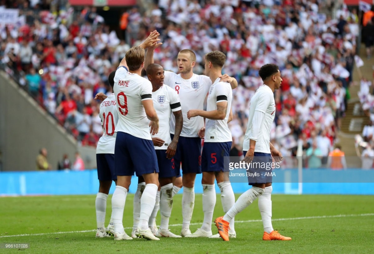 England 2-1 Nigeria: Entertaining test for Southgate's Three Lions