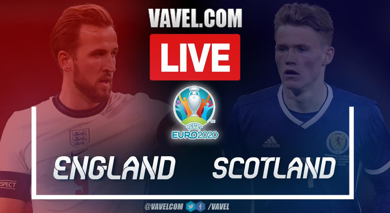 Highlights: England 0-0 Scotland in UEFA Euro 2020