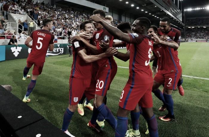 Slovakia 0-1 England: Last-gasp Lallana strike ensures Allardyce era starts with a win