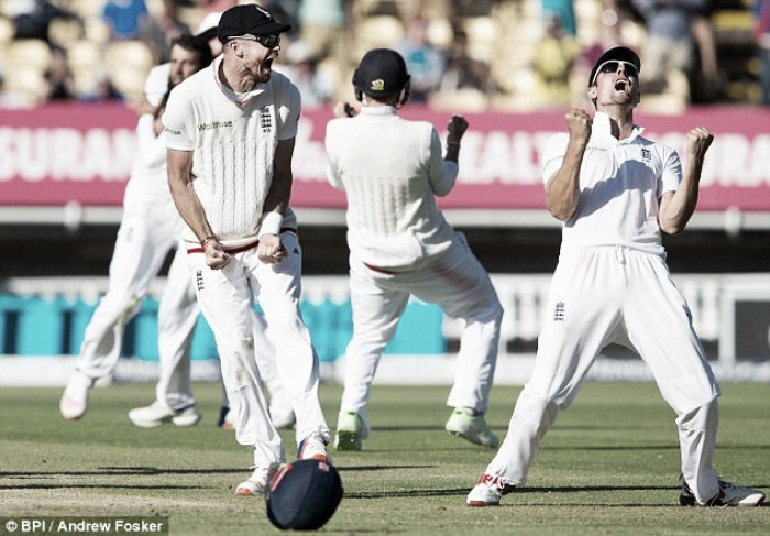 England vs Pakistan Day Five: Cook's men complete heroic turnaround to edge ahead in series