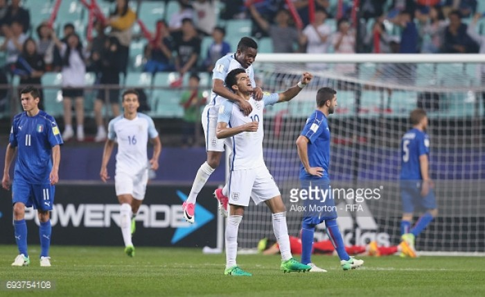 England U20 3-1 Italy U20: Young Lions through to first ever World Cup Final