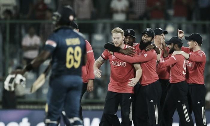 England see off Sri Lanka in first and final T20
