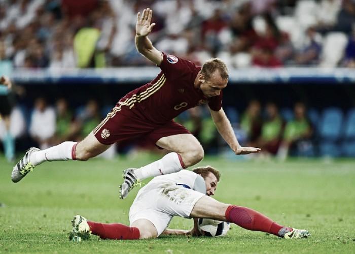Inglaterra empata com Rússia e segue sem vencer em estreias da Eurocopa