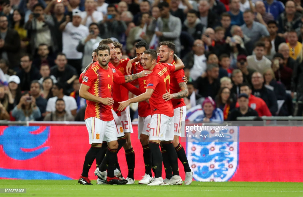 England 1-2 Spain: Luis Enrique begins La Roja reign with a win as Spain fight back to leave Wembley victorious