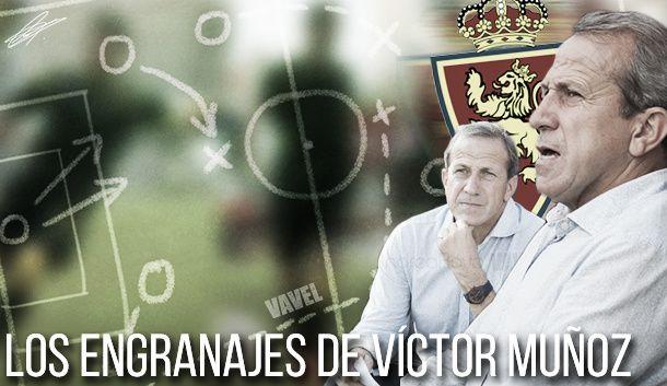Los engranajes de Víctor Muñoz: Numancia - Real Zaragoza