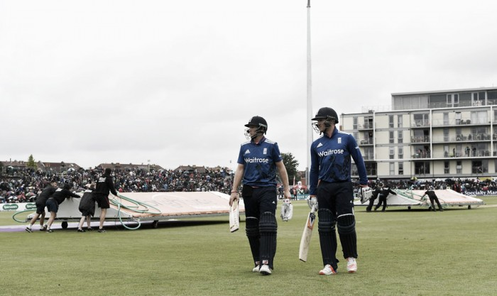 England vs Sri Lanka 3rd ODI: Home victory charge halted at Bristol by heavy rain