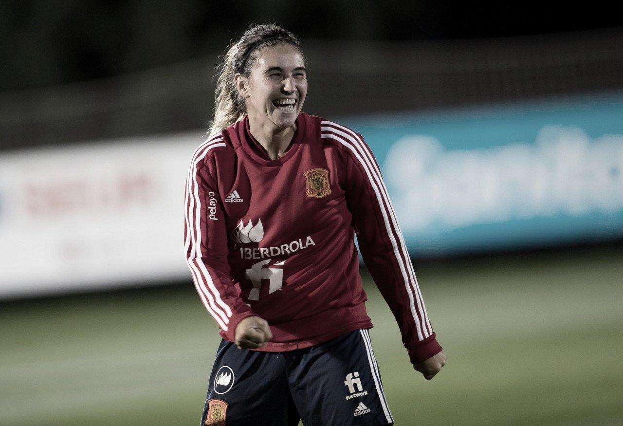 La selección española continúa preparándose para la última convocatoria del año | Foto: @SeFutbolFem