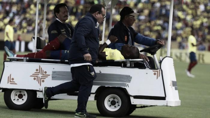 Enner Valencia escapa da polícia e sai do jogo do Equador de ambulância