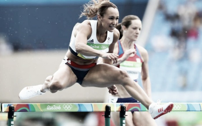 Rio 2016: First blood to Ennis-Hill after a devastating hurdles run
