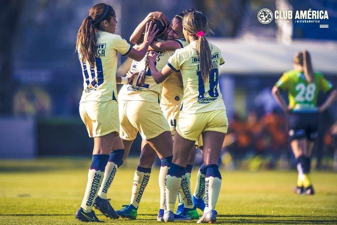 Los Reyes Magos dotan de goles al América Femenil