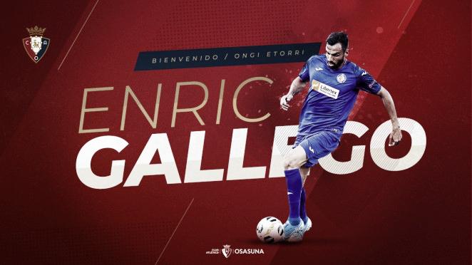 Enric Gallego refuerza la delantera rojilla