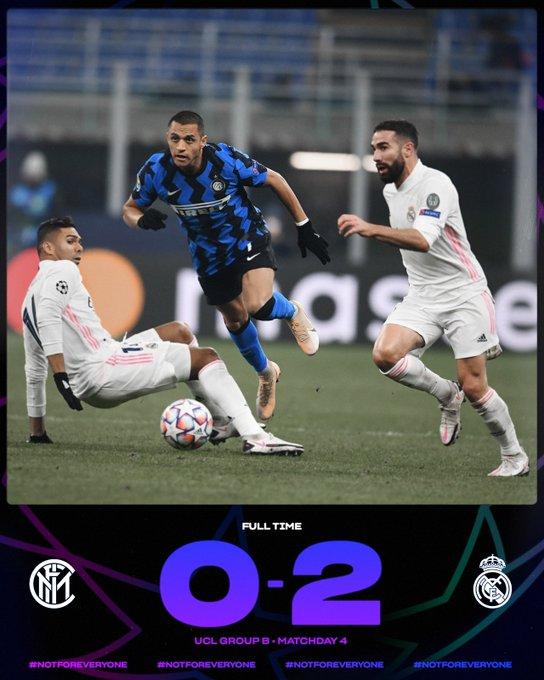 Champions League, una brutta Inter cade a San Siro contro il Real Madrid