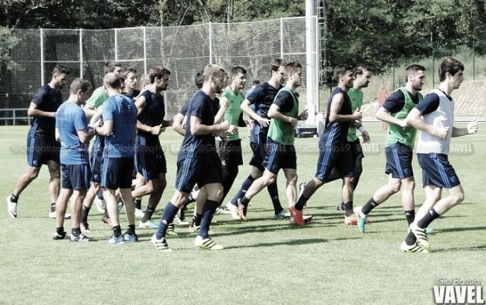 Real Sociedad: cuatro sesiones para enfrentarse al Las Palmas y al Eibar