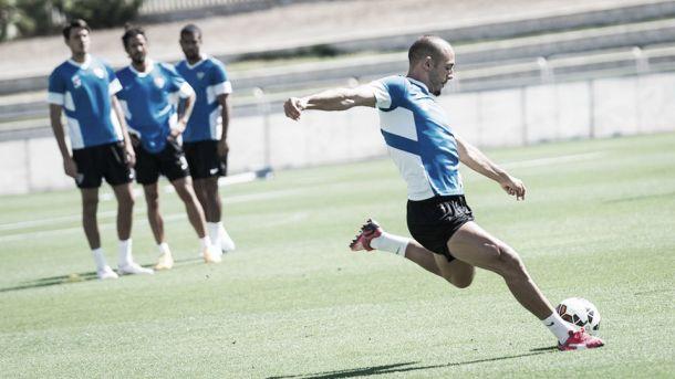 Penúltima sesión antes de Villarreal