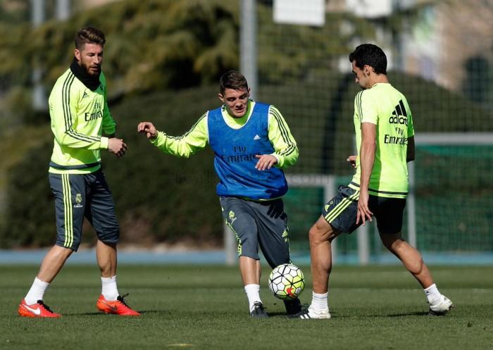 El Madrid ya calienta motores de cara al derbi