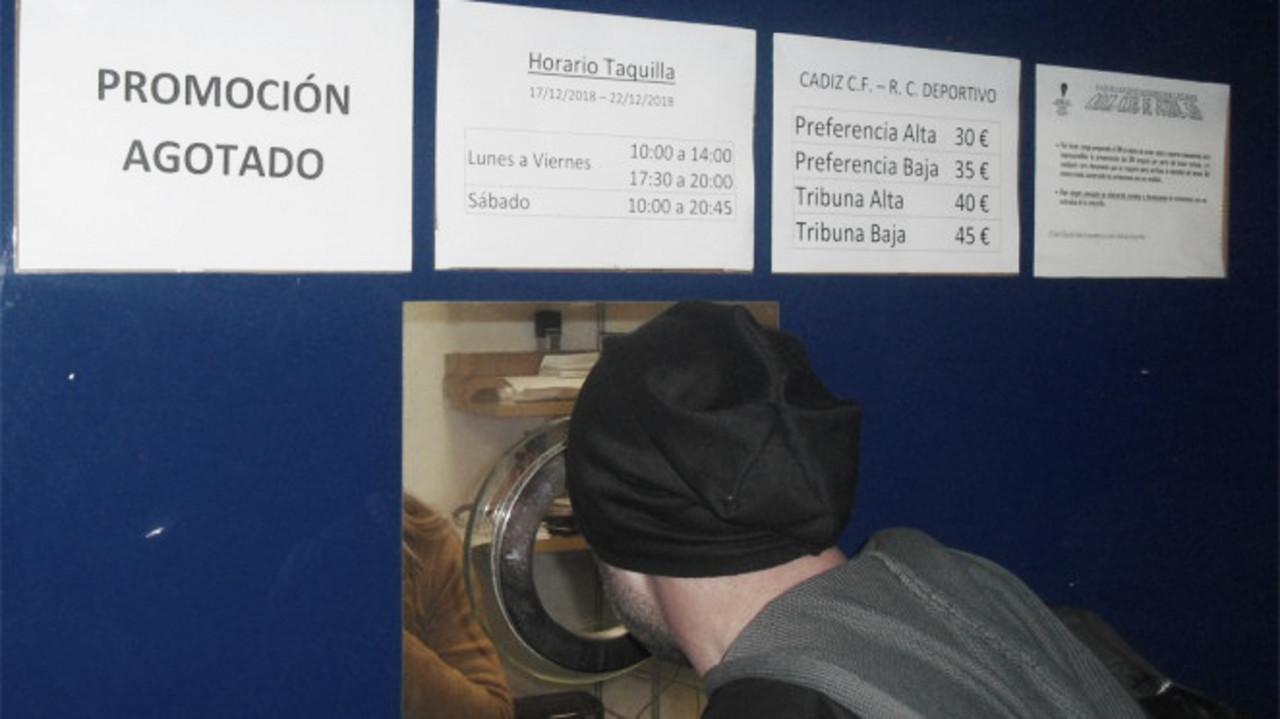 Agotadas las 1.000 entradas de promoción a cinco euros