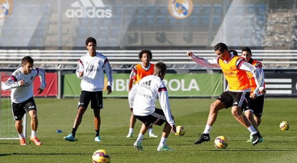 Ancelotti contó con todos los futbolistas a excepción de Illarramendi y Modric