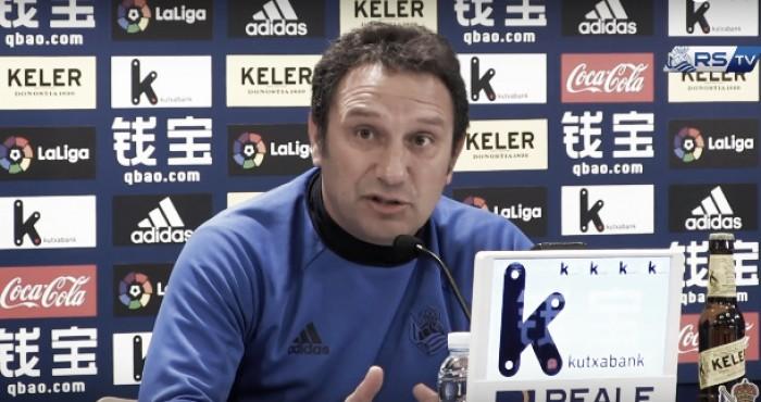"""Eusebio: """"Tenemos que pensar que nos enfrentaremos a un gran Valencia"""""""
