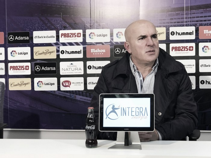 """Luis César: """"Tenemos calidad de sobra para estar arriba, lo que no hemos conseguido es rendimiento"""""""