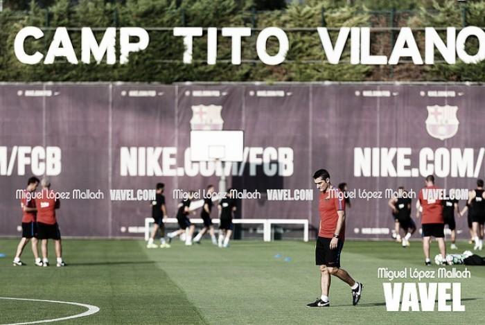 Vuelta a los entrenamientos con la vista puesta en Copa