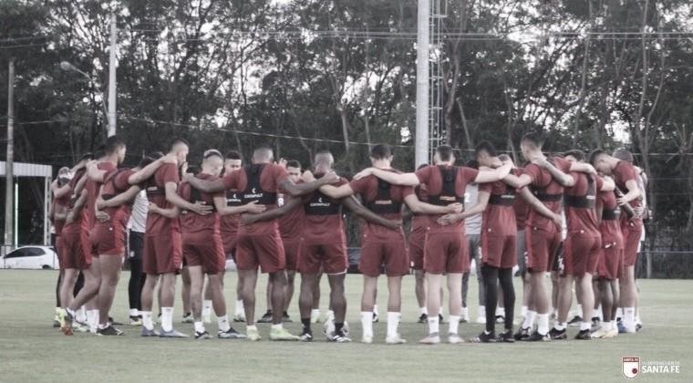 Los convocados por Independiente Santa Fe para enfrentar al Atlético Bucaramanga