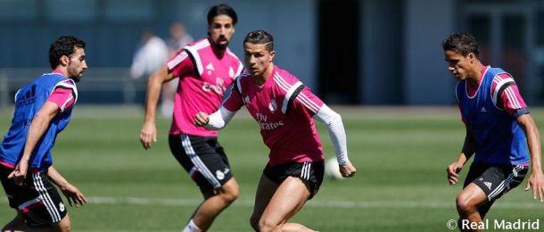 Nueva sesión de entrenamientos sin Modric, Bale ni Benzema