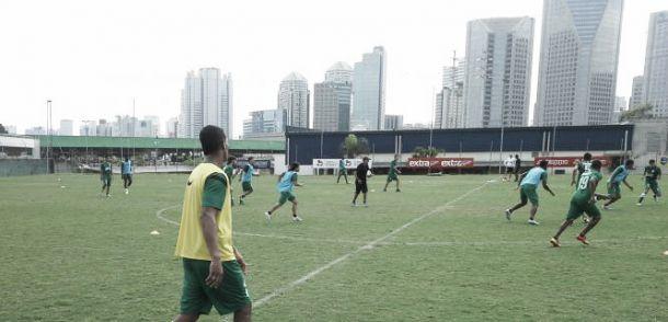 Nacional está en en Brasil y se prepara para el duelo de Copa