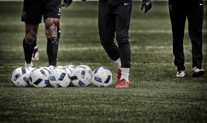 El Málaga se ejercita de cara al partido contra el Eibar