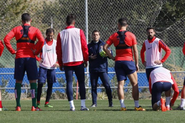 Penúltimo entrenamiento antes de ir a Villarreal
