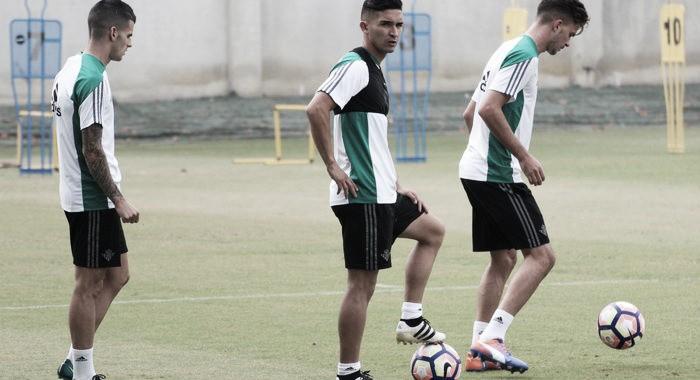 Jonas Martin, Cejudo y Piccini, ausencias en el entrenamiento