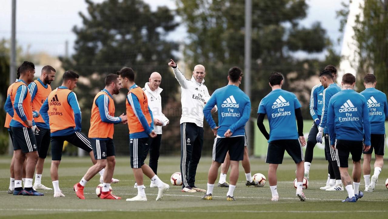 El Madrid va adquiriendo efectivos de cara al partido contra el Leganés