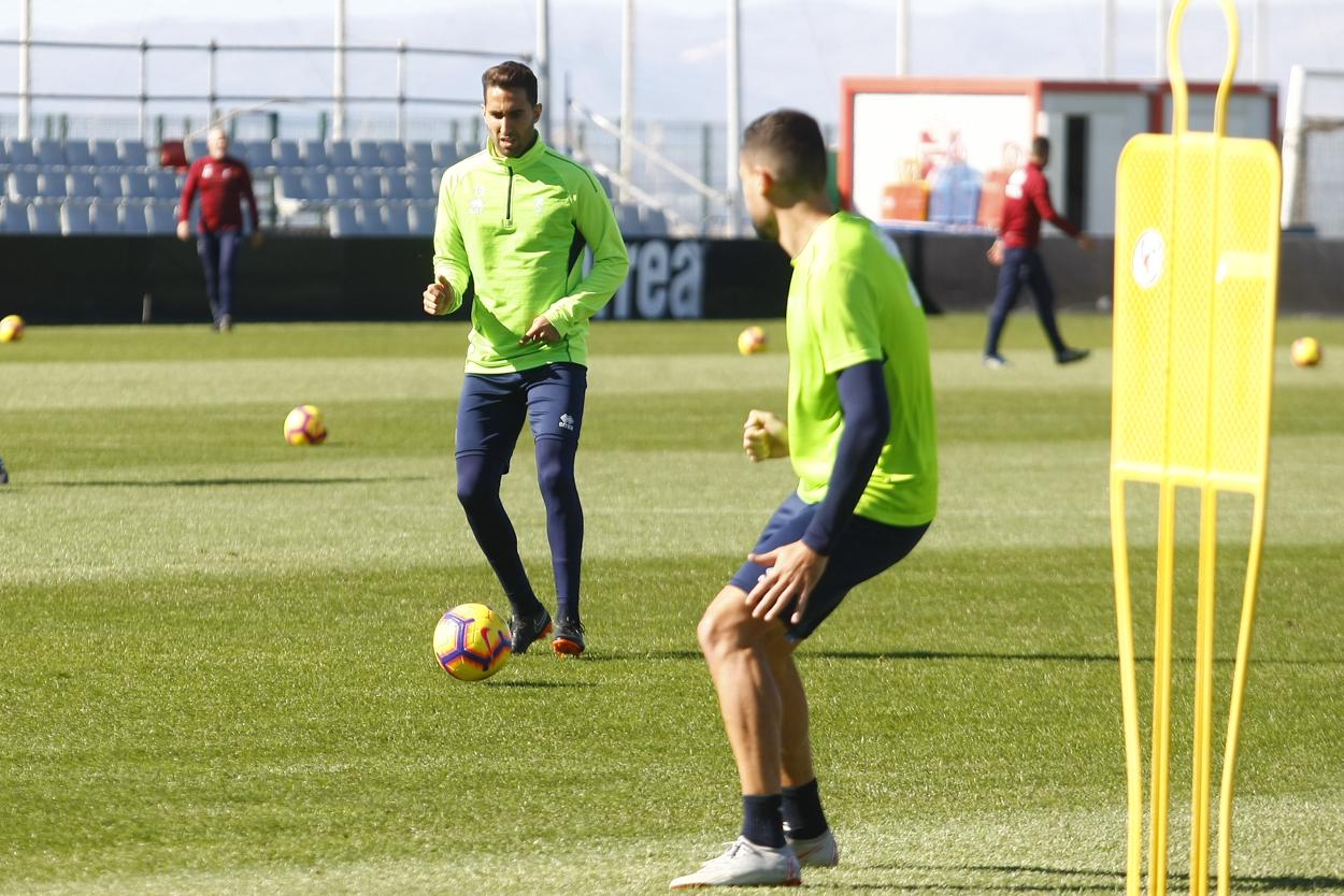Cuatro entrenamientos antes de recibir al Real Oviedo