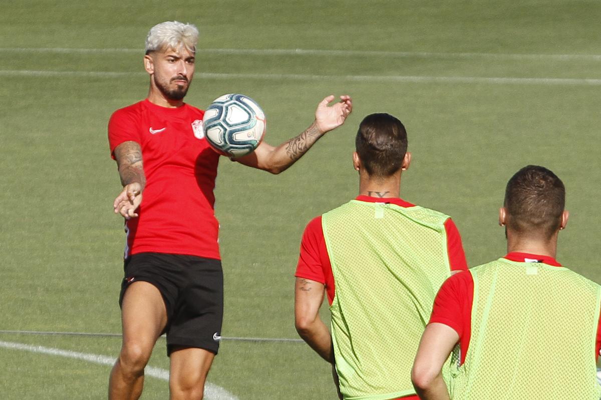 El Granada CF prepara la visita del Barça con cuatro entrenamientos