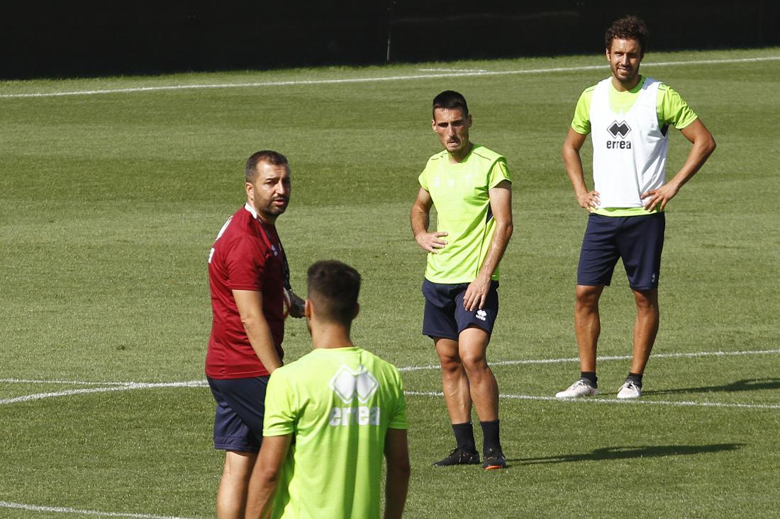 Tres entrenamientos y un amistoso para preparar el partido contra el Mallorca