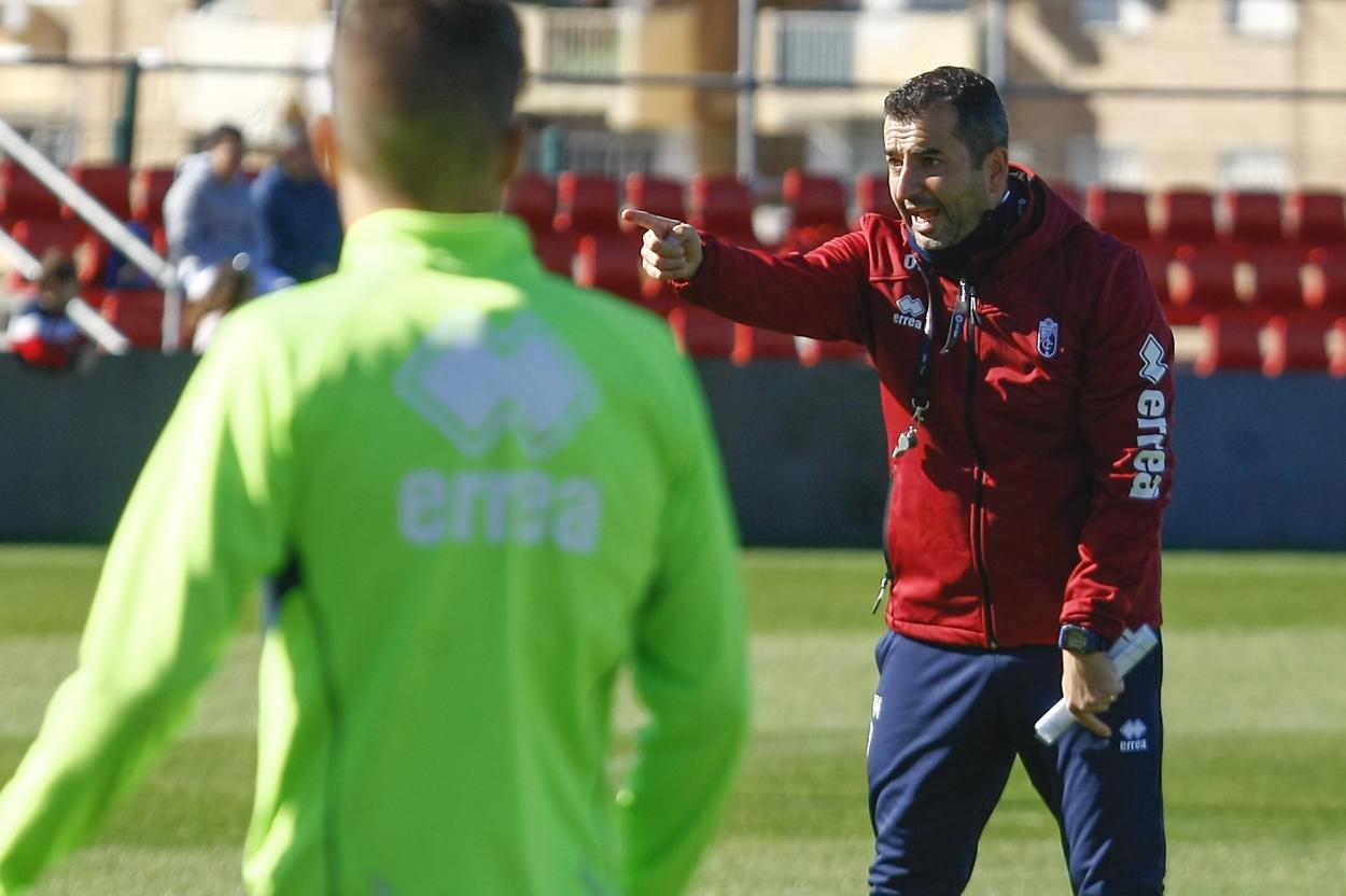 Cuatro entrenamientos antes de recibir al Sporting de Gijón