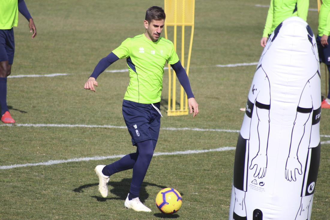 El Granada CF se prepara para recibir al Málaga con cuatro entrenamientos