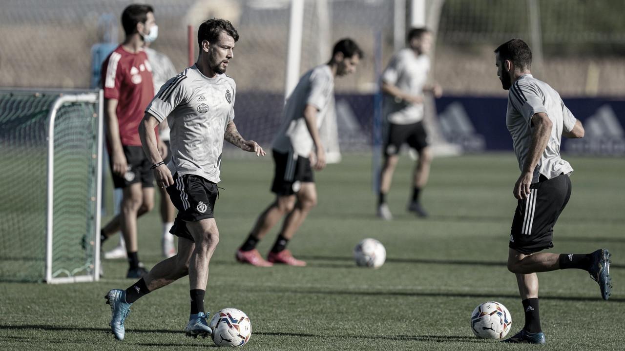 La pretemporada del Real Valladolid continúa con trabajo en doble sesión
