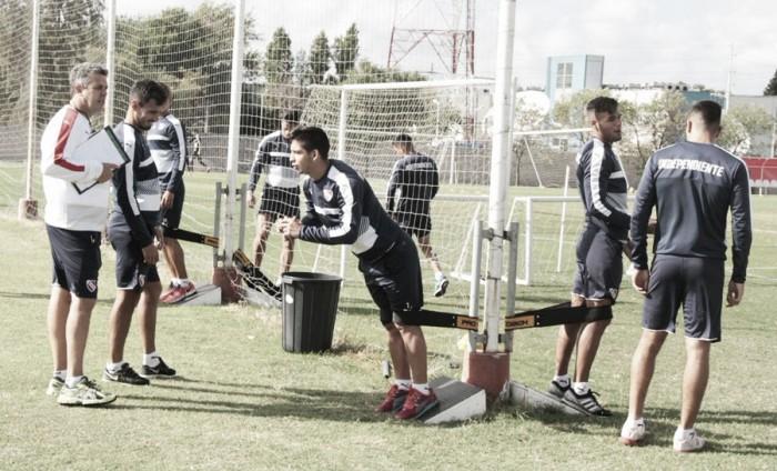 Concentrados de Independiente para visitar a Aldosivi
