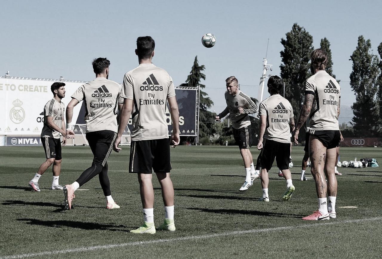 El Real Madrid ultima su puesta a punto