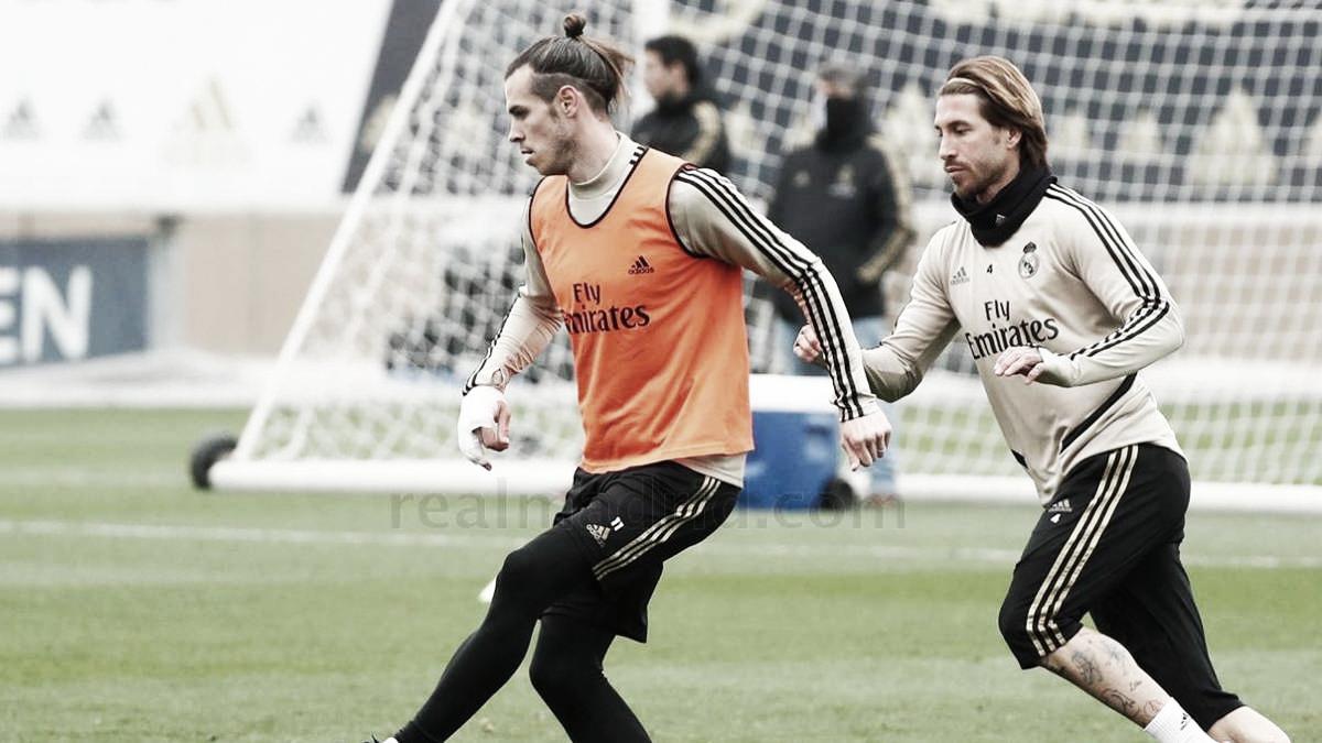 El Real Madrid se ejercita a tres días del Celta de Vigo